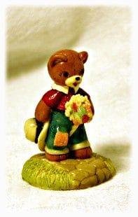 "Penni Bear ""Giddy Up"" Miniature Figurine"