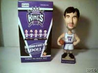Sacramento Kings Bobblehead Peja Stojacovic