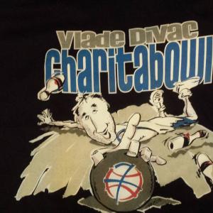 "Vlade Divac ""Charitibowl"" Bowling Shirt"